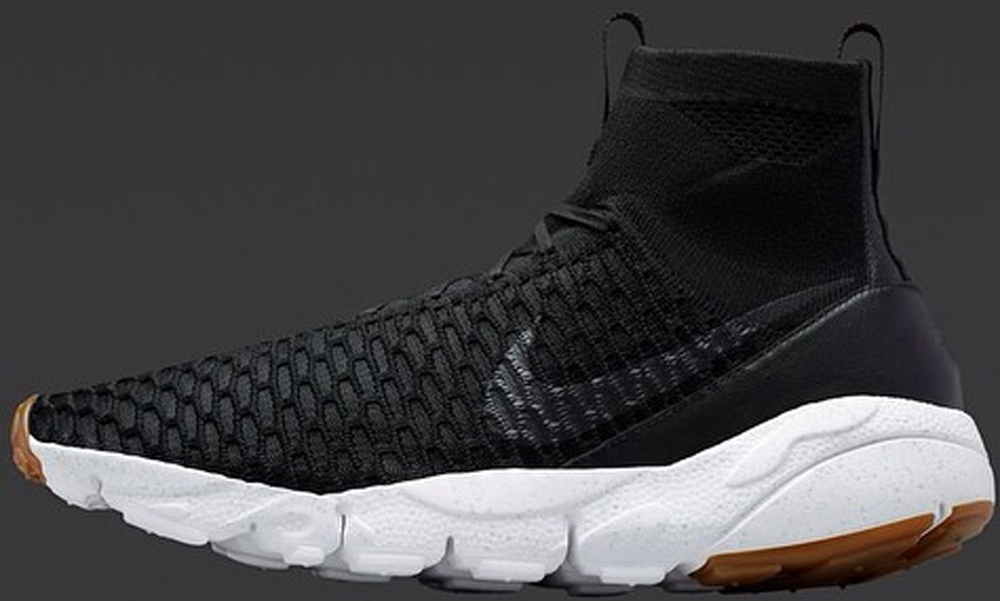 Nike Air Footscape Magista SP Black/White-Gum Light Brown