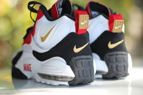 best cheap 5e757 a3038 The San Francisco 49ers Air Max Speed Turf is set to release tomorrow at  select Nike Sportswear accounts nationwide.