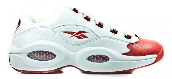 Reebok Question Low White/Red