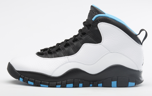 Air Jordan 10 Retro 'Powder Blue' Profile