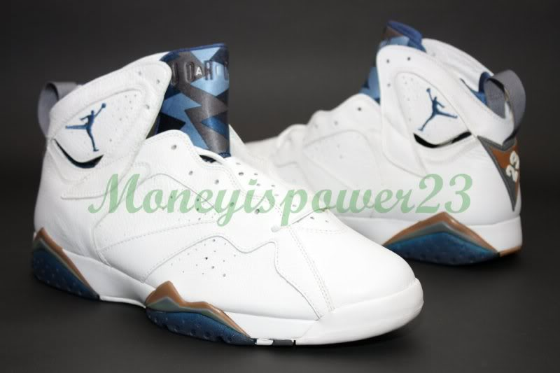 a2fc85c6ee4e Air Jordan 7  French Blue  with a Hint of Wizard