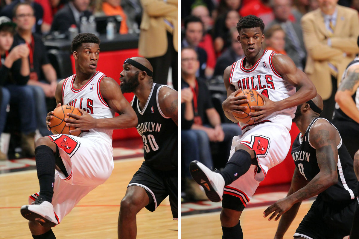 Jimmy Butler wearing adidas The Kobe (6)