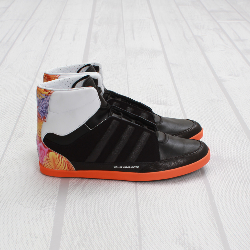 9d4674ed18b70 The adidas Y-3 Honja High in Black   Graphic is available now at Concepts.