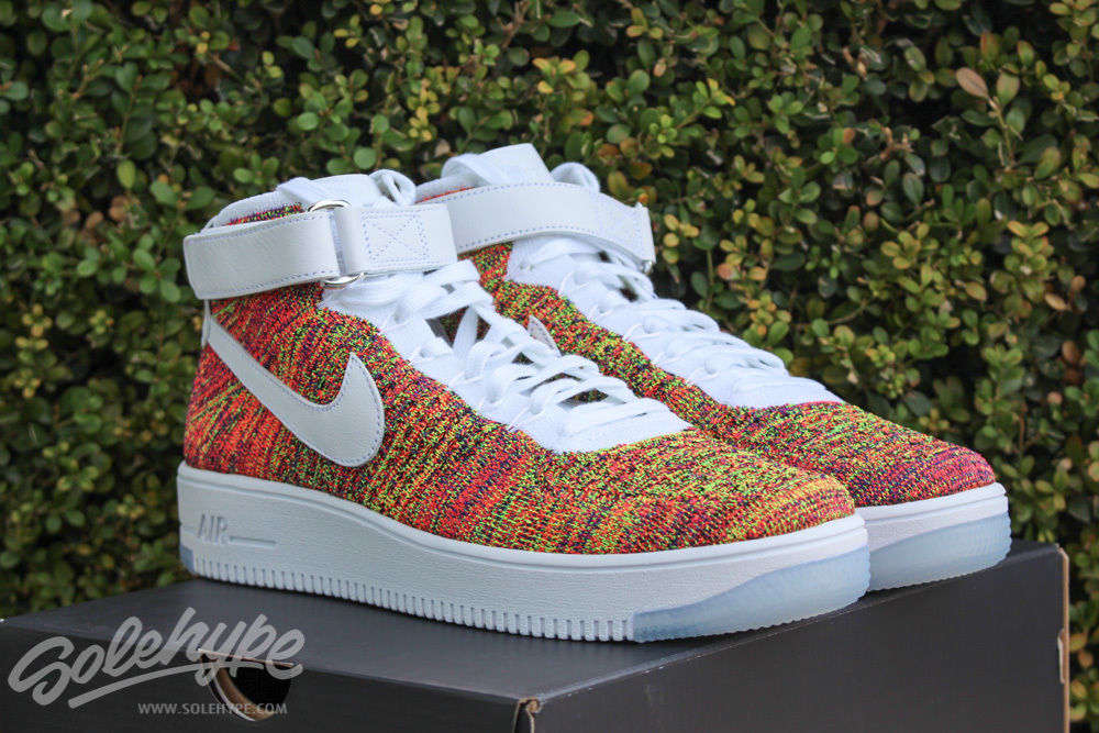 Virus Por cierto Bloquear  Of Course There's a Multicolor Nike Flyknit Air Force 1 | Sole Collector