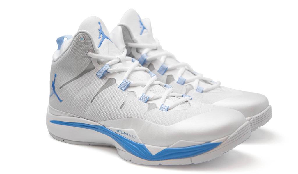 5a996aae3b7820 The Latest Nike Jordan Super.Fly 2 Cheap sale UNC Whiteout Pes ...