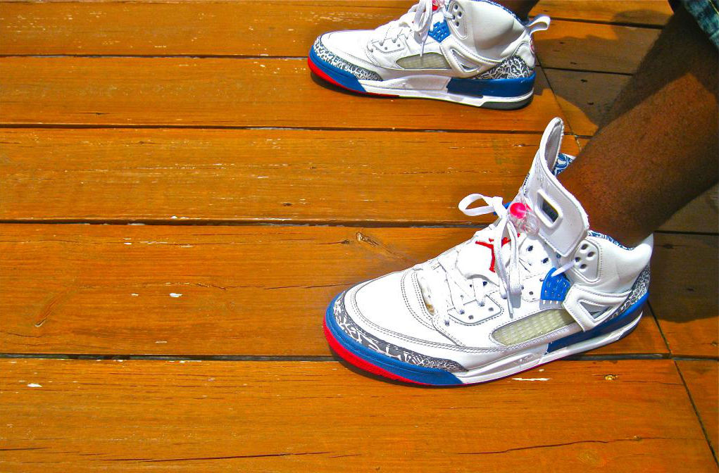 Spotlight // Forum Staff Weekly WDYWT? - 8.10.13 - Jordan Spizike True Blue by 757solestalker