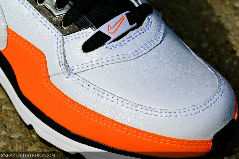 Air Max Ltd Blanc Orange Noir