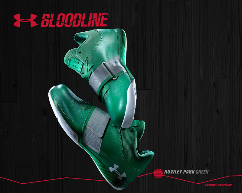 Under Armour Micro G Bloodline Rowley Park Green