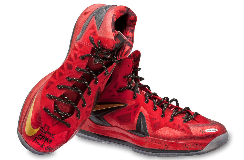 Nike LeBron X 10 Elite Finals PE Worn by LeBron James in Game 3 of the