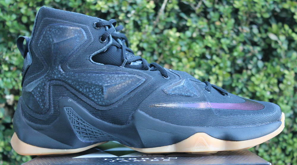 1d7b804ce74 Images via eBay · Nike LeBron 13 Black Lion ...