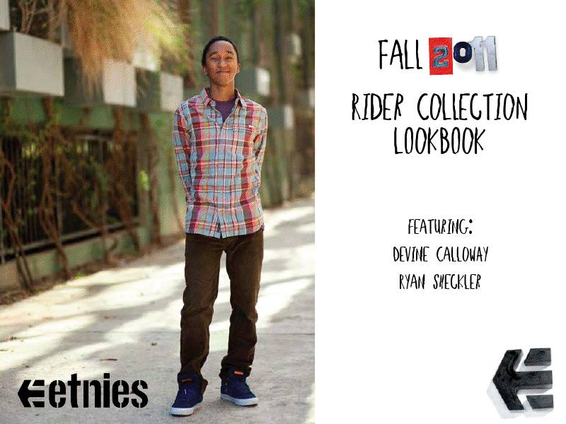 etnies Fall 2011 Team Rider Collection