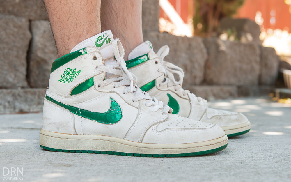Air Jordan 1 'Metallic Green'