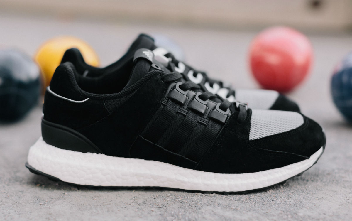 BUY Adidas EQT Support Ultra Core Black Turbo Red
