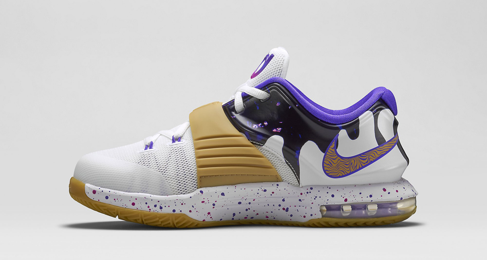 new arrival 96a57 de464 Nike KD 7  Peanut Butter and Jelly  Releasing Tomorrow