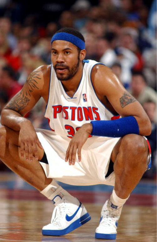 Rasheed Wallace and His Air Force Ones