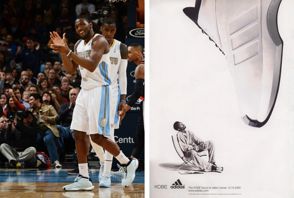 best service 7011a 9e0ba adidas Crazy 1 Retro Returns In Classic 'Ice Blue' Sample Colorway ...