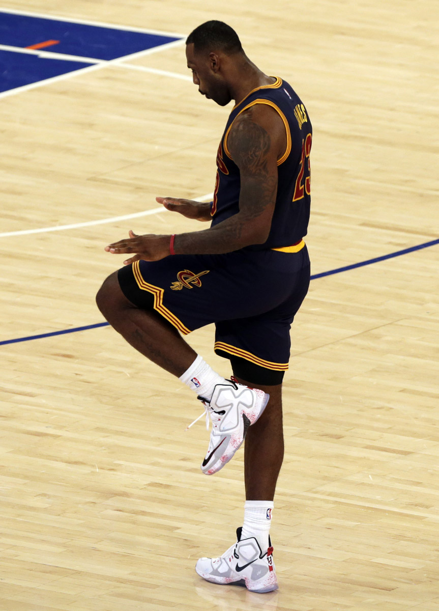 7d8549642c2 SoleWatch  LeBron James Haunts the Garden in the  Friday the 13th ...