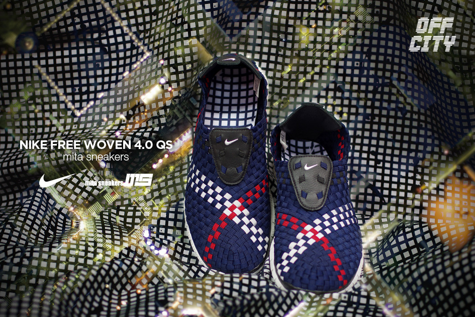 the best attitude f78b5 651bb mita sneakers x Nike Free Woven 4.0 QS