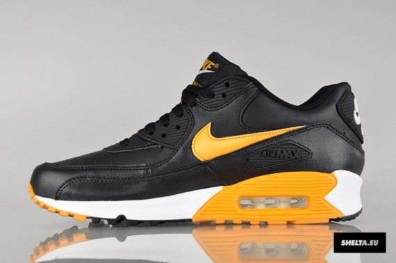 nike air max 90 essential black canyon gold