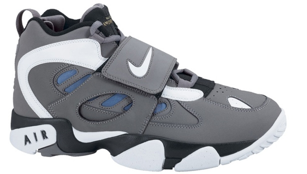 Nike Air Diamond Turf II Cool Grey/White-Soar-Black
