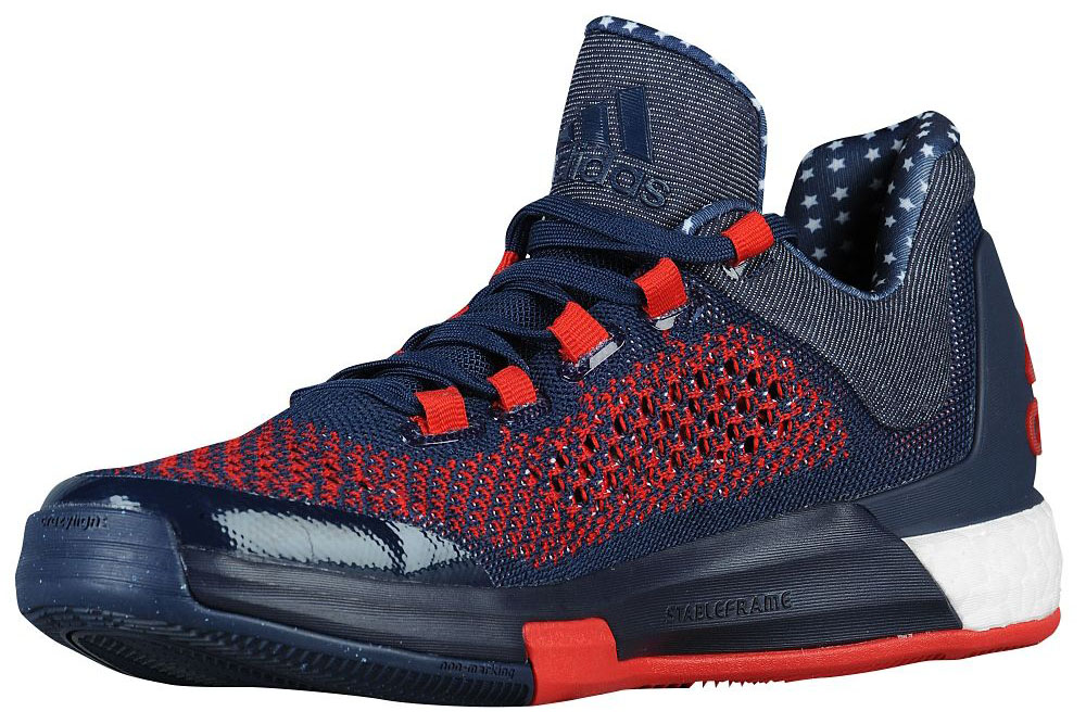 timeless design 49e9e c7ab1 adidas Crazylight Boost 2015 USA Independence Day Release Date (2)