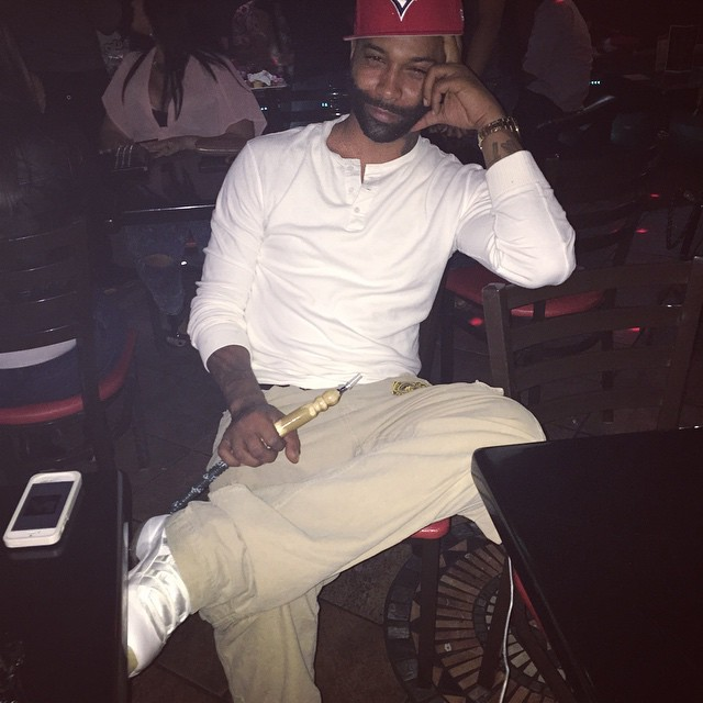 83e910929ae ... where to buy joe budden wearing air jordan xi 11 retro silver  anniversary a276a 726f8