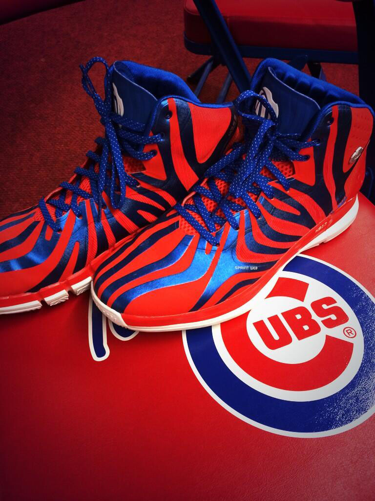 Kris Bryant Picks Up adidas D Rose 4.5 PE