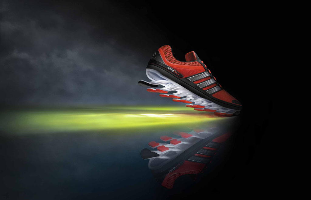 80b71924d07 adidas Unleashes The SpringBlade Running Shoe
