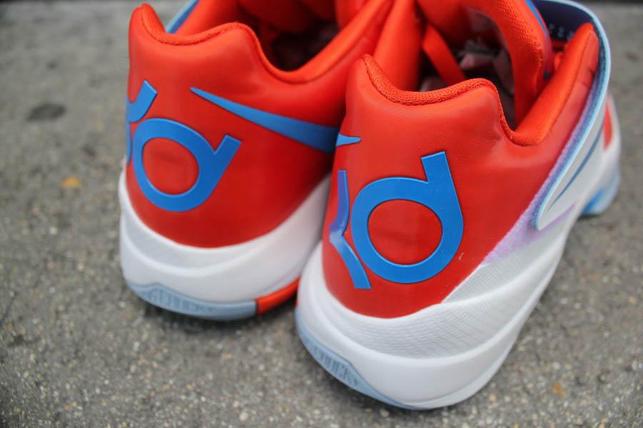 purchase cheap 2716e ddf13 Nike Zoom KD IV Team Orange Photo Blue White 473679-800 (2)