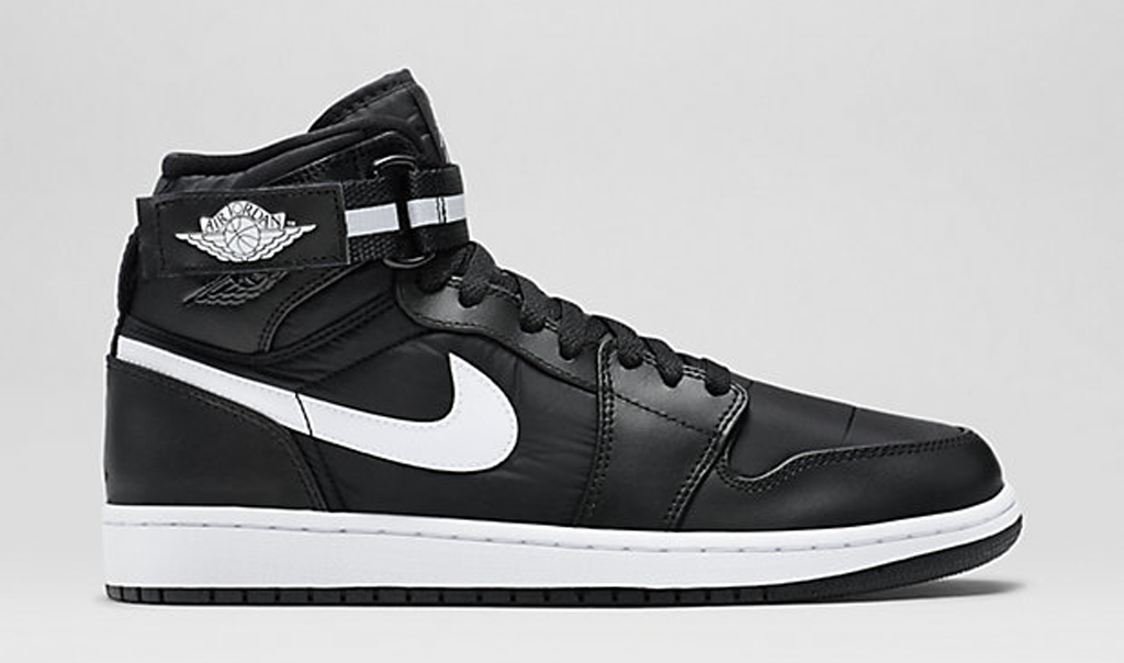 eff65b03a3b98e Black and White Covers This Air Jordan 1 High Strap