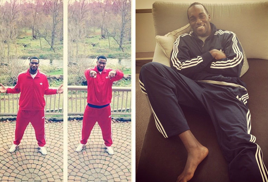 adidas Basketball Celebrates National Tracksuit Day // Andre Drummond & Quincy Pondexter