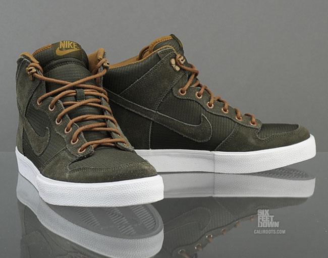 Nike Dunk High AC Sequoia Dark Khaki Ripstop