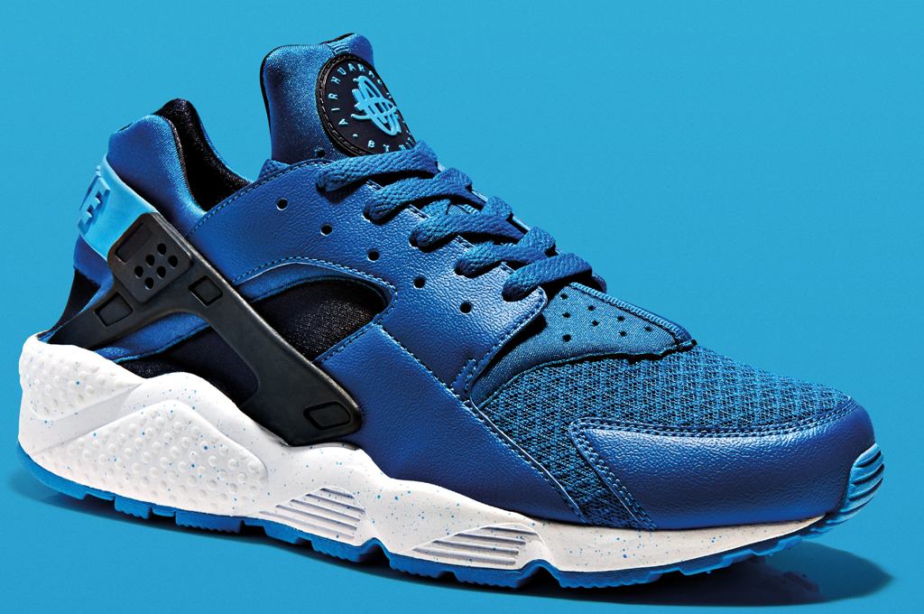 Nike Huarache Grey And Blue