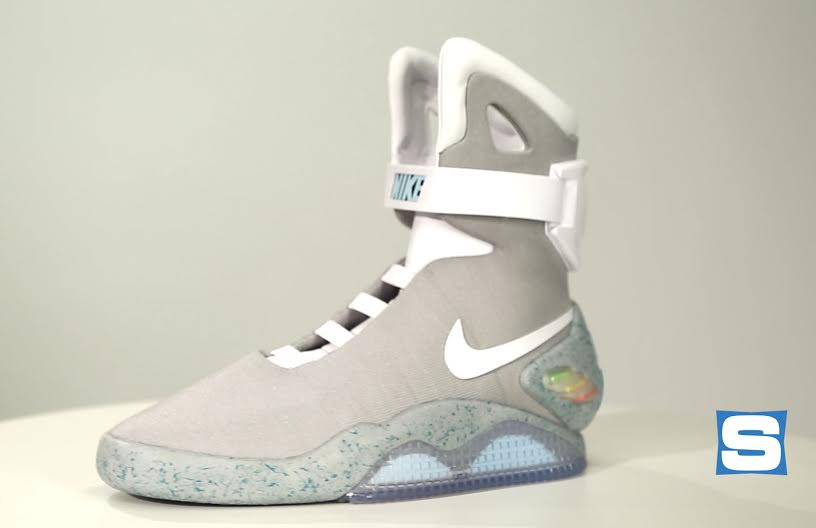 Nike Mags Comparing Both Versions Of The Back To The Future