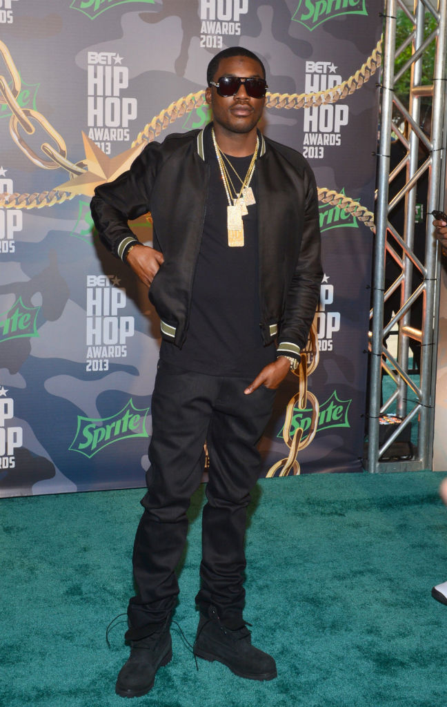 Meek Mill wearing Timberland 6-Inch Boot