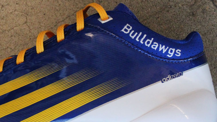 adidas adiZero 5-Star Mid Copperas Cove Bulldawgs by Robert Griffin III (3)