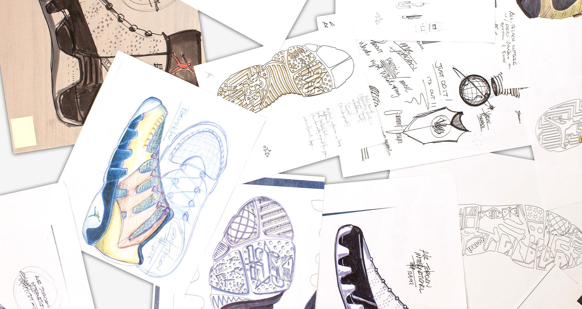 Air Jordan 9 Design Sketch 1