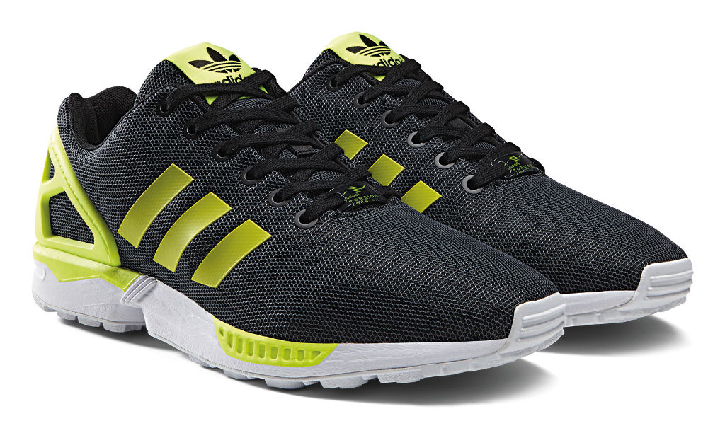 adidas ZX Flux Base Pack Grey/Yellow (6)