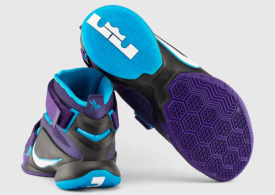 new style 4dbaa 16128 NIke Soldier 9 Summit Lake Hornets 749417-510 (2)