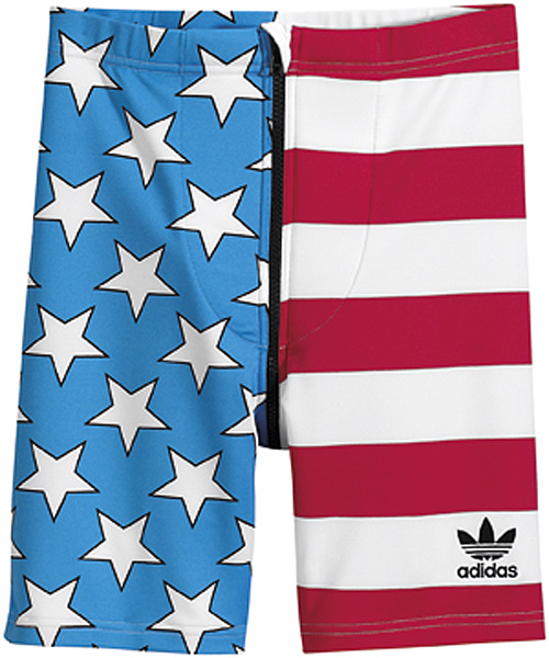 adidas Originals by Jeremy Scott - Spring/Summer 2012 - JS Flag Shorts X30167