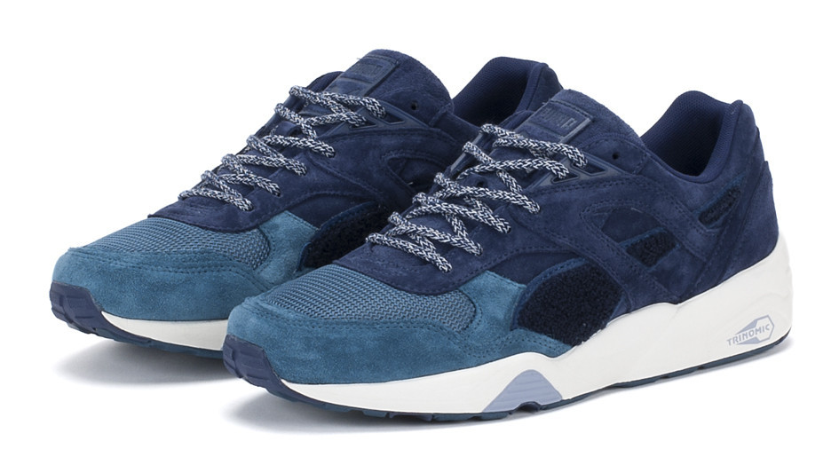 bwgh x puma r698 trinomic 39 bluefield project 39 sole collector. Black Bedroom Furniture Sets. Home Design Ideas