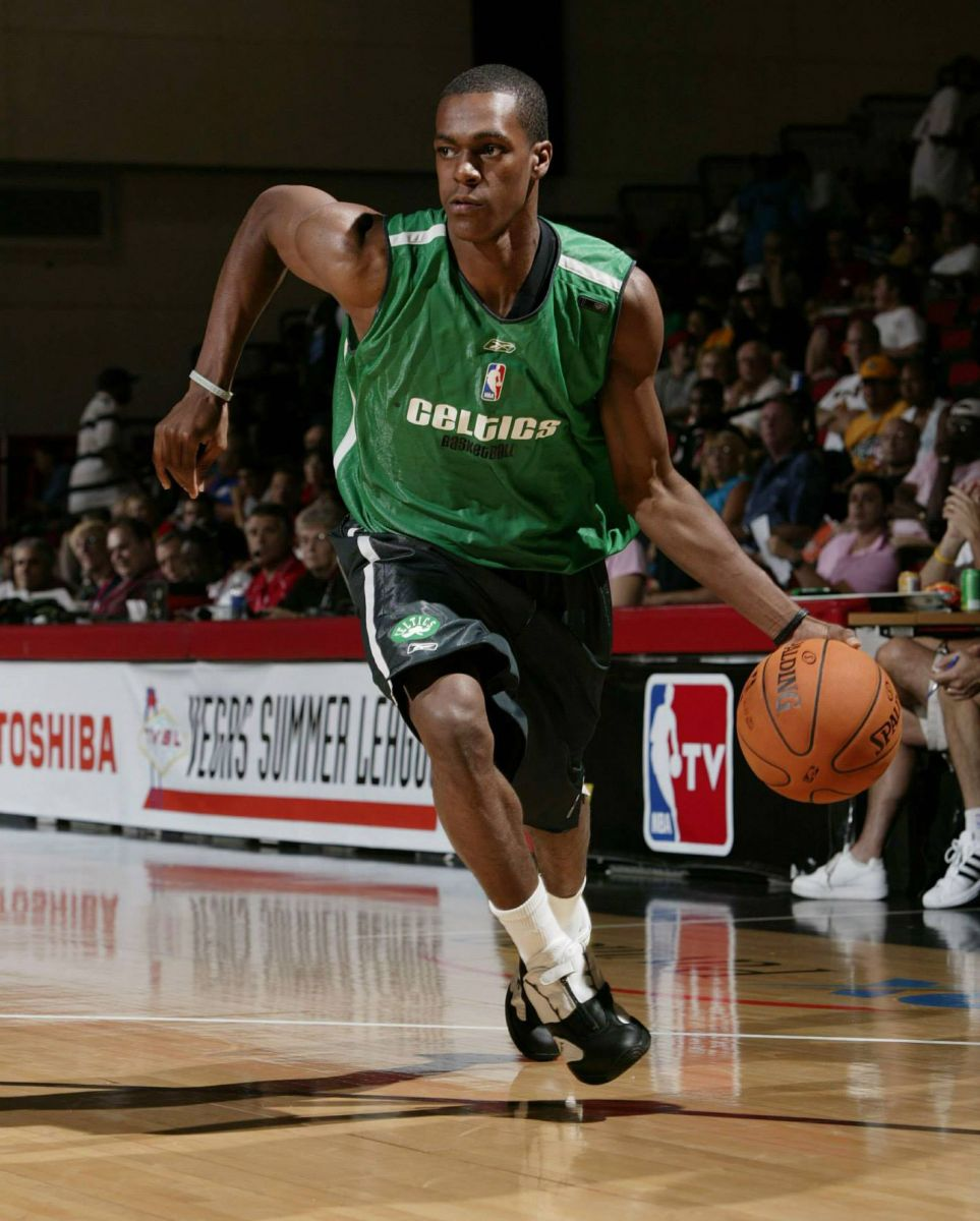 Rajon Rondo wearing the Reebok Answer 4