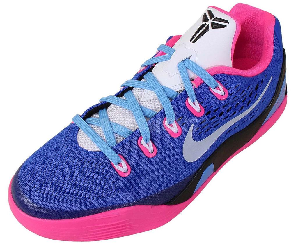 save off ef9ea afaa2 Nike Kobe IX 9 EM GS Hyper Pink White-Hyper Cobalt 653593-600