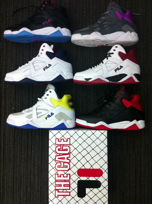 FILA The Cage - 2012 Retro