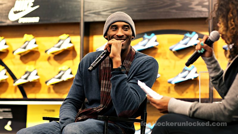 Kobe Bryant was in the house for an exclusive release of the