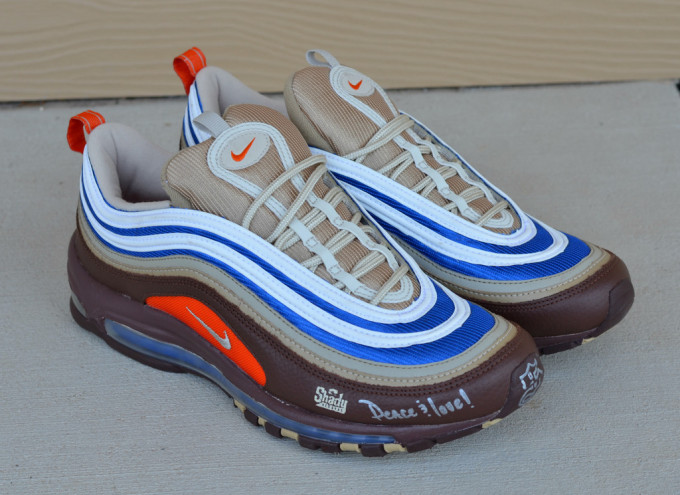 16653bfd96 The Air Max 97 was another style auctioned off in limited numbers as part  of the 2006 Eminem Charity Air Max series. The 97 featured a traditional  build, ...
