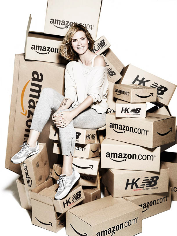 Heidi Klum for New Balance Collection Launches Exclusively on Amazon