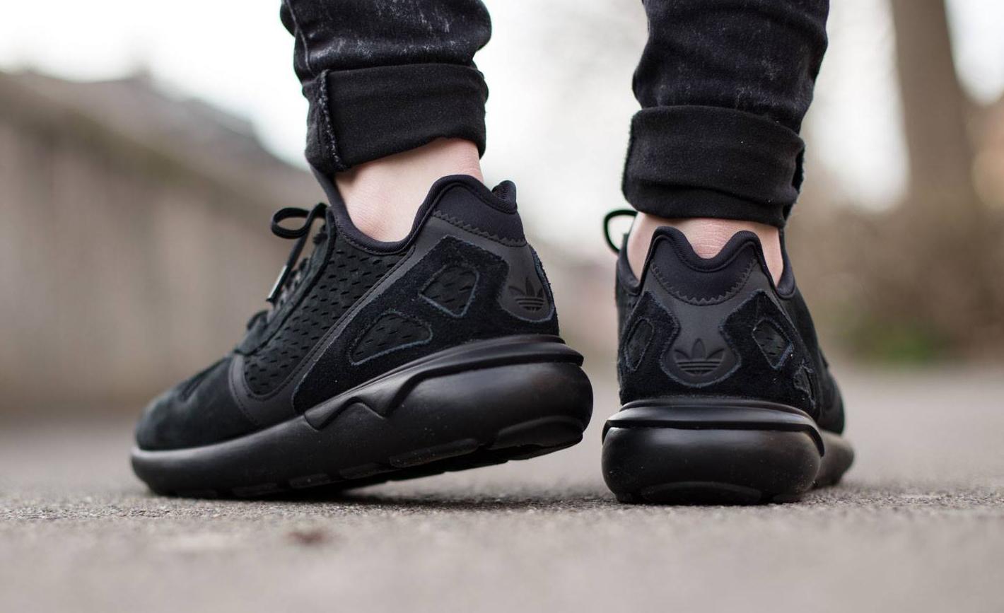 adidas tubular all black
