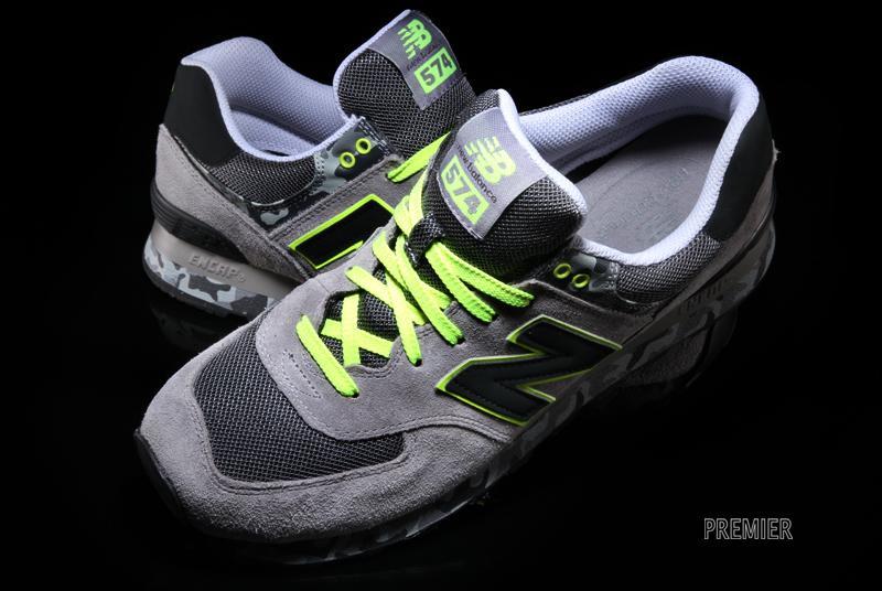 new balance 574 camo grey