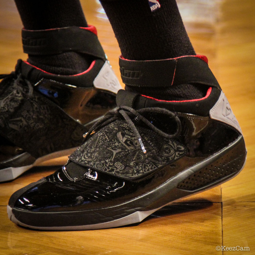 Terrence Ross wearing Air Jordan XX 20 Stealth